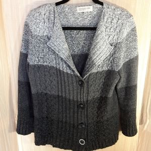 Jones New York petite cardigan.  Size large